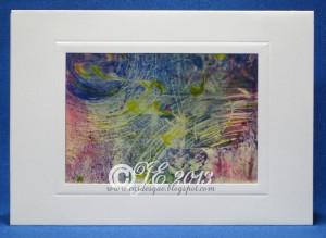A7 artwork in card