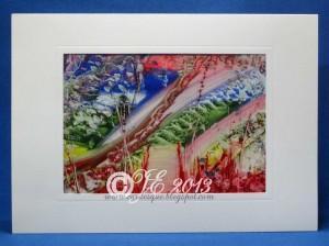 A6 artwork in card